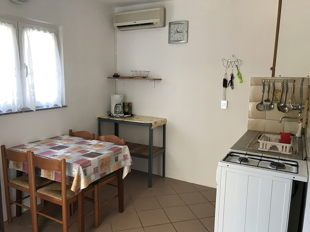 House for rent kitchen Ribarica